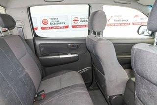 2011 Toyota Hilux KUN26R MY10 SR5 Glacier White 4 Speed Automatic Utility