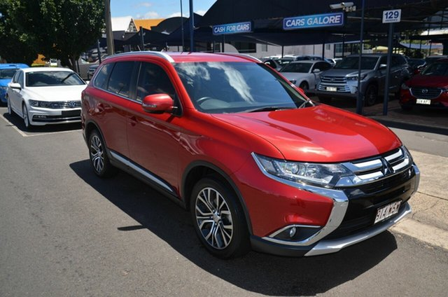 Used Mitsubishi Outlander ZK MY16 LS (4x2) Toowoomba, 2016 Mitsubishi Outlander ZK MY16 LS (4x2) Red 5 Speed Manual Wagon