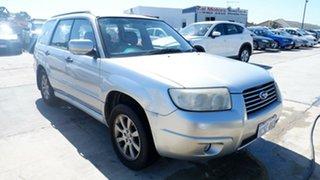 2005 Subaru Forester 79V MY05 X AWD Silver 4 Speed Automatic Wagon.