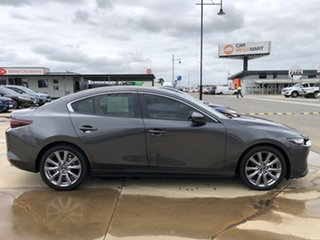 2019 Mazda 3 BP2S7A G20 SKYACTIV-Drive Evolve Grey 6 Speed Sports Automatic Sedan.