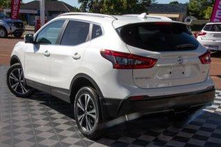 2019 Nissan Qashqai J11 Series 2 ST-L X-tronic Ivory Pearl 1 Speed Constant Variable Wagon.