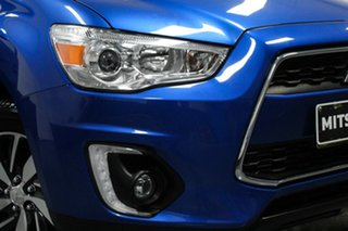 2014 Mitsubishi ASX XB MY15 LS 2WD Blue 6 Speed Constant Variable Wagon.