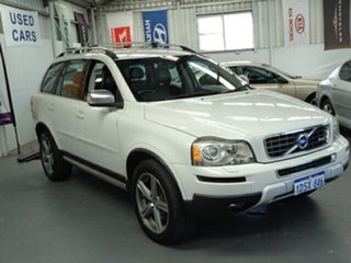 2011 Volvo XC90 P28 MY11 R-Design Geartronic White 6 Speed Sports Automatic Wagon
