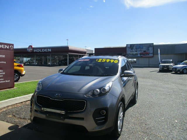 Used Kia Sportage QL MY17 Si 2WD North Rockhampton, 2016 Kia Sportage QL MY17 Si 2WD Grey 6 Speed Sports Automatic Wagon