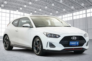 2020 Hyundai Veloster JS MY20 Turbo Coupe D-CT Premium Chalk White 7 Speed.