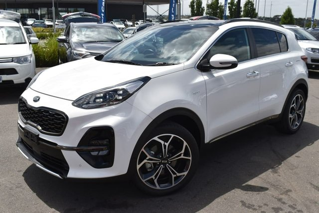 Used Kia Sportage QL MY20 GT-Line AWD Essendon Fields, 2020 Kia Sportage QL MY20 GT-Line AWD White 8 Speed Sports Automatic Wagon