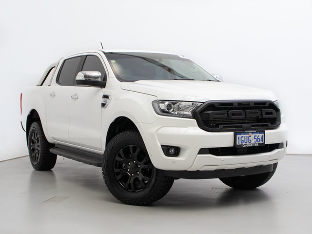 Used Ford Ranger PX MkIII MY19.75 XLT 3.2 (4x4), 2019 Ford Ranger PX MkIII MY19.75 XLT 3.2 (4x4) White 6 Speed Automatic Double Cab Pick Up