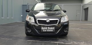 2011 Holden Barina TK MY11 Black 4 Speed Automatic Hatchback.