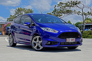 2016 Ford Fiesta WZ ST Spirit Blue 6 Speed Manual Hatchback.