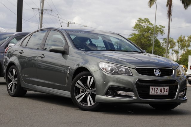 Used Holden Commodore VF MY15 SV6 Storm Rocklea, 2015 Holden Commodore VF MY15 SV6 Storm Prussien Steel 6 Speed Sports Automatic Sedan