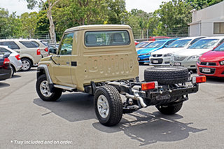 2020 Toyota Landcruiser VDJ79R GXL Beige 5 Speed Manual Cab Chassis.