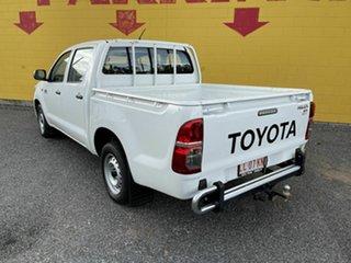 2014 Toyota Hilux KUN16R MY14 SR Double Cab 4x2 White 5 Speed Manual Utility