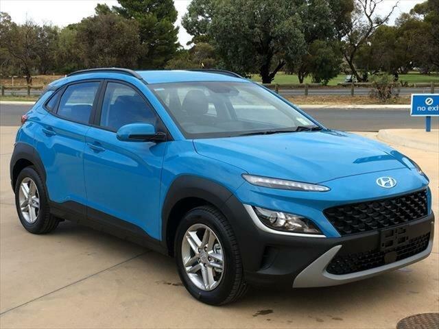 New Hyundai Kona Os.v4 MY21 2WD Berri, 2020 Hyundai Kona Os.v4 MY21 2WD Dive in Jeju 8 Speed Constant Variable Wagon