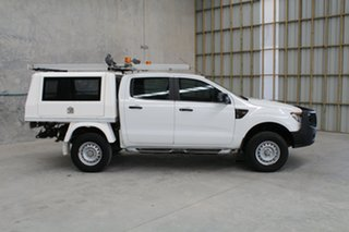 2012 Ford Ranger PX XL White 6 speed Automatic Cab Chassis
