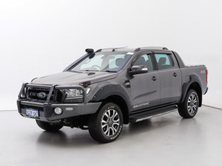 2017 Ford Ranger PX MkII MY17 Wildtrak 3.2 (4x4) Grey 6 Speed Automatic Dual Cab Pick-up.