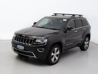 2016 Jeep Grand Cherokee WK MY15 Limited (4x4) Black 8 Speed Automatic Wagon