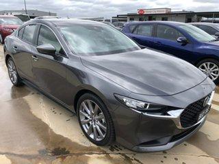 2019 Mazda 3 BP2S7A G20 SKYACTIV-Drive Evolve Grey 6 Speed Sports Automatic Sedan.