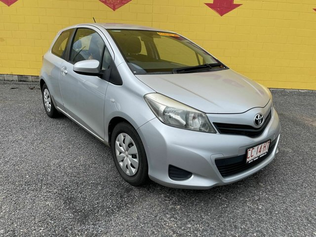 Used Toyota Yaris NCP130R YR Winnellie, 2013 Toyota Yaris NCP130R YR Silver 5 Speed Manual Hatchback