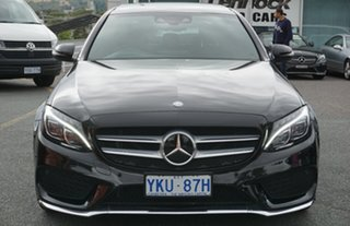 2015 Mercedes-Benz C-Class W205 C250 7G-Tronic + Black 7 Speed Sports Automatic Sedan.