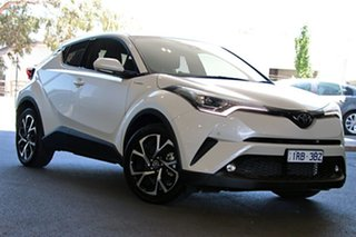 2018 Toyota C-HR NGX10R Koba S-CVT 2WD White 7 Speed Constant Variable Wagon.