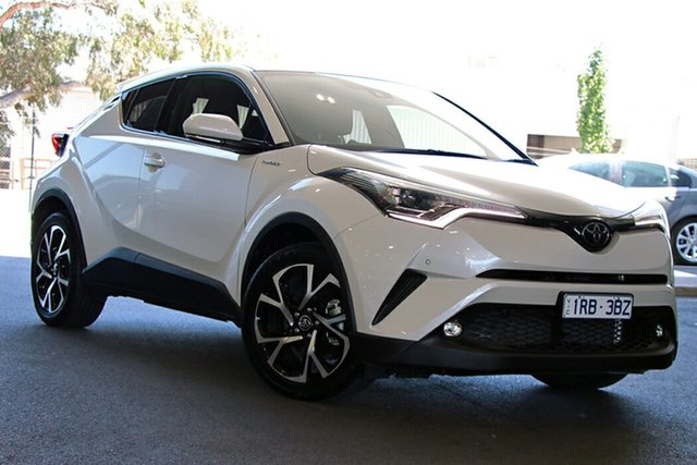 Pre-Owned Toyota C-HR NGX10R Koba S-CVT 2WD South Morang, 2018 Toyota C-HR NGX10R Koba S-CVT 2WD White 7 Speed Constant Variable Wagon