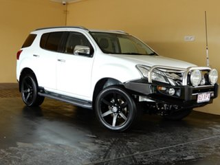 2016 Isuzu MU-X UC MY15.5 LS-T (4x4) White 5 Speed Automatic Wagon.