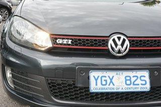 2010 Volkswagen Golf VI MY11 GTi Grey 6 Speed Manual Hatchback