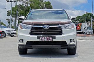2016 Toyota Kluger GSU50R Grande 2WD White 8 Speed Sports Automatic Wagon.