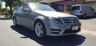 2012 Mercedes-Benz C200 W204 MY11 Avantgarde BE Grey 7 Speed Automatic G-Tronic Sedan.
