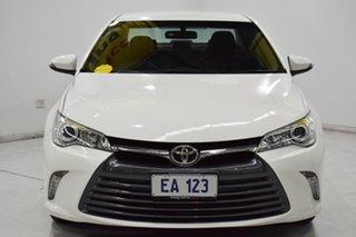 2016 Toyota Camry ASV50R Altise White 6 Speed Sports Automatic Sedan.