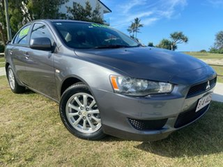 2011 Mitsubishi Lancer CJ MY11 SX Grey 5 Speed Manual Sedan.