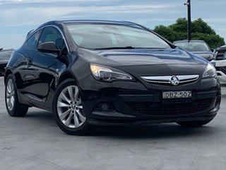 2015 Holden Astra PJ MY16 GTC Sport Black 6 Speed Manual Hatchback.