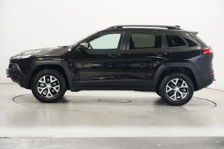 2018 Jeep Cherokee KL MY19 Trailhawk Black 9 Speed Sports Automatic Wagon.
