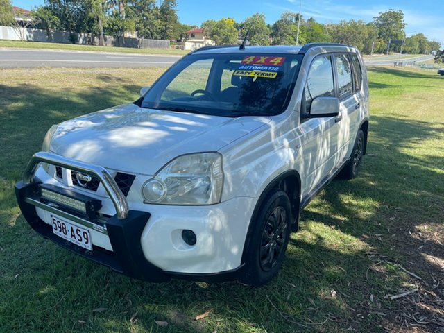 Used Nissan X-Trail T31 ST Clontarf, 2008 Nissan X-Trail T31 ST White 1 Speed Constant Variable Wagon
