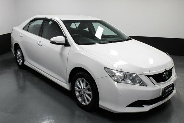 Used Toyota Aurion GSV50R AT-X Cardiff, 2016 Toyota Aurion GSV50R AT-X White 6 Speed Sports Automatic Sedan