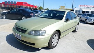 2005 Ford Falcon BF XT Green 4 Speed Sports Automatic Sedan
