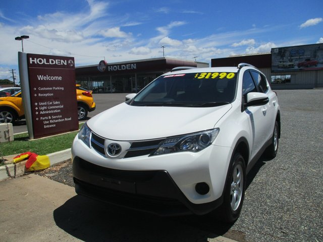 Used Toyota RAV4 ASA44R MY14 GX AWD North Rockhampton, 2015 Toyota RAV4 ASA44R MY14 GX AWD White 6 Speed Sports Automatic Wagon