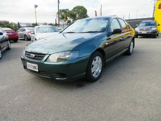2007 Ford Falcon BF MkII XT Green 4 Speed Auto Seq Sportshift Sedan.