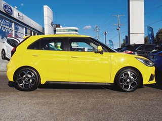 2020 MG MG3 SZP1 MY21 Excite Yellow 4 Speed Automatic Hatchback