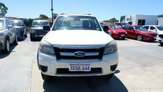 2011 Ford Ranger PK XL Hi-Rider White 5 Speed Manual Cab Chassis.