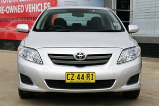 2009 Toyota Corolla ZRE152R Ascent Silver Pearl 4 Speed Automatic Sedan