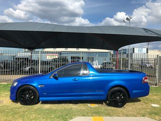 2011 Holden Commodore VE II SS Thunder Blue 6 Speed Manual Utility.