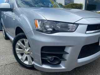 2010 Mitsubishi Outlander ZH MY10 RX Cool Silver (Metallic) 6 Speed Constant Variable Wagon.