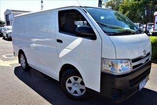 2013 Toyota HiAce TRH201R MY12 LWB White 5 Speed Manual Van.