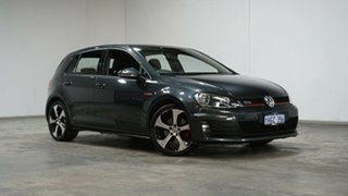 2015 Volkswagen Golf VII MY15 GTI DSG Carbon Steel Grey 6 Speed Sports Automatic Dual Clutch.