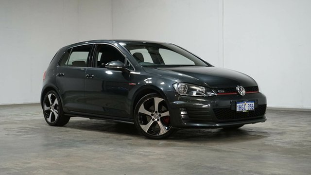 Used Volkswagen Golf VII MY15 GTI DSG Welshpool, 2015 Volkswagen Golf VII MY15 GTI DSG Carbon Steel Grey 6 Speed Sports Automatic Dual Clutch