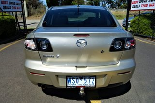 2008 Mazda 3 BK10F2 Maxx Gold 4 Speed Sports Automatic Sedan