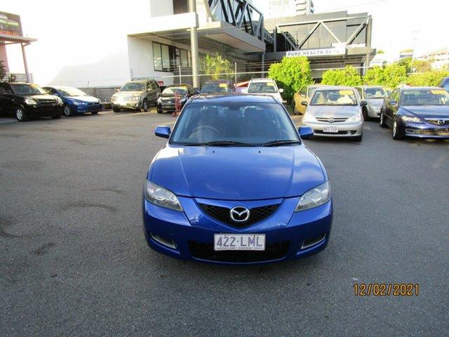 Used Mazda 3 BK MY06 Upgrade Neo Coorparoo, 2008 Mazda 3 BK MY06 Upgrade Neo Blue 4 Speed Auto Activematic Sedan