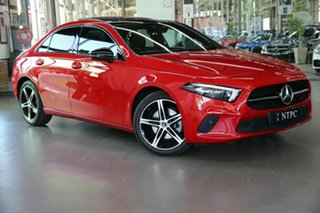 2019 Mercedes-Benz A-Class V177 800MY A200 DCT Red 7 Speed Sports Automatic Dual Clutch Sedan.