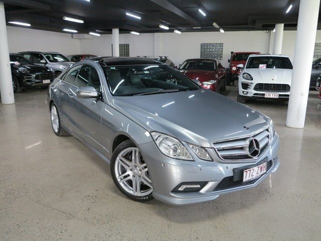 Used Mercedes-Benz E-Class C207 E350 7G-Tronic Avantgarde Albion, 2009 Mercedes-Benz E-Class C207 E350 7G-Tronic Avantgarde Silver 7 Speed Sports Automatic Coupe